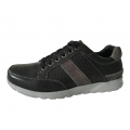 Black Leather Shoes Comfortable Fashion Leather Shoes